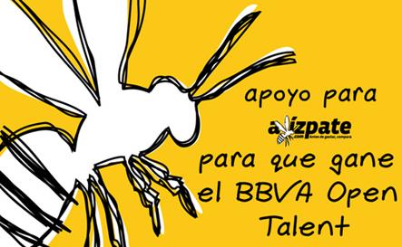 Apoyemos a Avizpate finalista del BBVA Open Talent - avizpate-apoyo