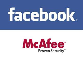 Antivirus gratis McAfee para usuarios Facebook - mcafee-facebook