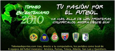 Futbol mexicano en vivo, torneo bicentenario 2010 - torneo-bicentenario-2010