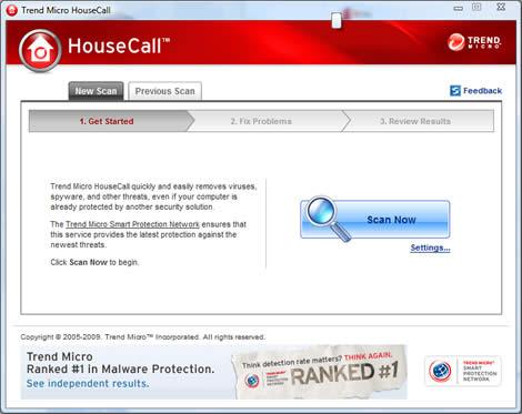 antivirus en linea gratis Antivirus online, Housecall