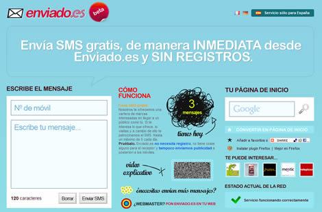 Enviar SMS gratis en España con enviado.es - enviar-sms-movil