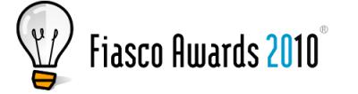 Fiasco Awards 2010, nominaciones al peor producto tecnológico del año - fiasco-awards-2010
