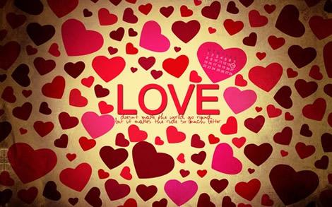 fondos febrero amor y amistad Fondos de febrero 2010, mes del amor
