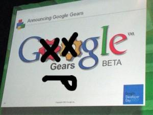 Google decide cancelar el desarrollo de su Herramienta Gears - googlegears-300x225