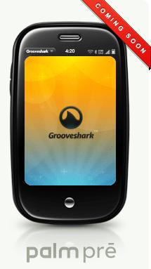Grooveshark lanza aplicación para Web OS - groovepalm