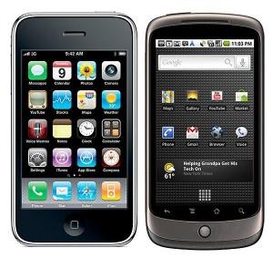 Una prueba de gráficos 3D entre el iPhone 3GS de Apple vs el Nexus One de Google - iphone-vs-nexus-one-300x283