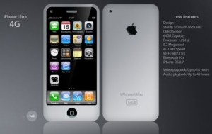 Diseño muy interesante hecho por un fan del iPhone 4G - iphone_ultra_4g_concept-300x189