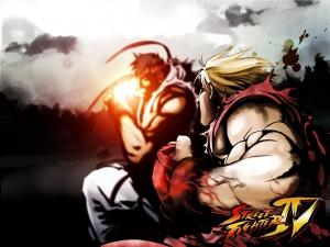 Street Fighter IV saldrá para el iPhone y iPod Touch - ken-ryo-300x225