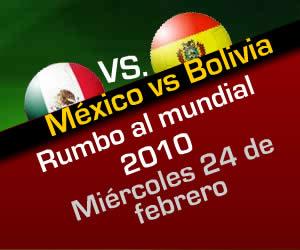 Mexico vs Bolivia en vivo rumbo a sudafrica 2010 - mexico-vs-bolivia