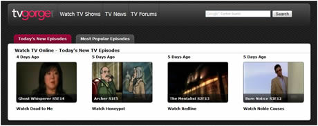 Television online en ingles en TVGorge - tv-online-ingles