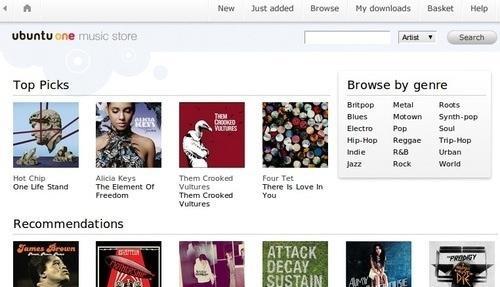 Ubuntu tendrá tienda musical, la Ubuntu One Music Store - ubuntuone
