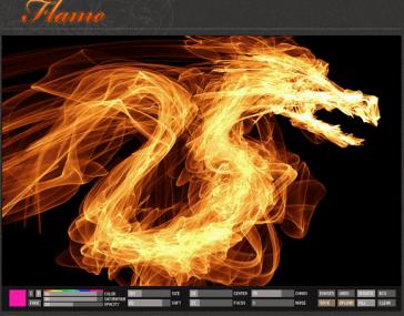 Flame, herramienta online para dibujar por diversión - flameart