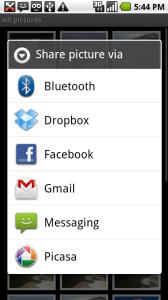 Dropbox para Android muy pronto - gallerysharing-168x300
