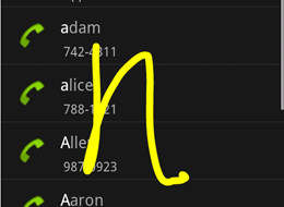 gesture 260 Google añade búsquedas en Android a través de gestos