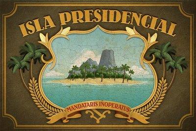 isla presidencial Isla Presidencial, parodia de presidentes en latinoamérica estilo Lost
