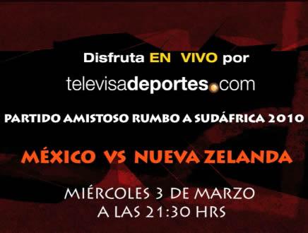 mexico contra nueva zelanda en vivo Mexico vs Nueva Zelanda en vivo por internet