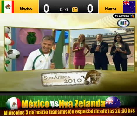 mexico nueva zelanda en vivo Mexico vs Nueva Zelanda en vivo por internet