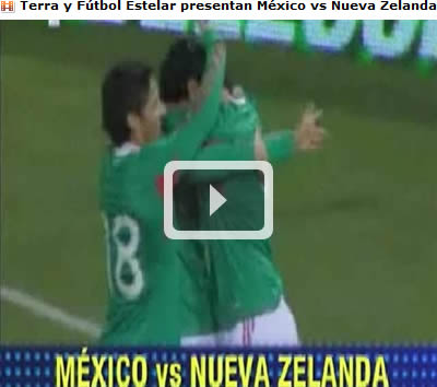 partido mexico en vivo Mexico vs Nueva Zelanda en vivo por internet