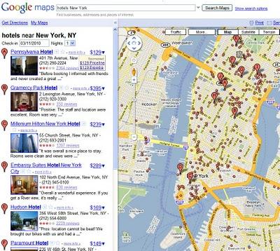 Google Maps mostrará el precio de Hoteles - precio-hoteles-google-maps
