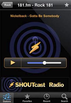 Escuchar radio en iPhone con ShoutCast - radio-iphone