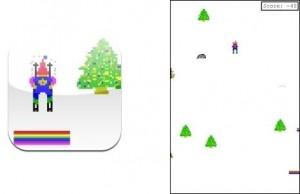 Skifree, el clásico juego de Windows 95 en el iPhone - skifree-300x194