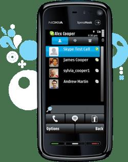 Skype saca una aplicación para Nokia en la Ovi Store - skype-nokia