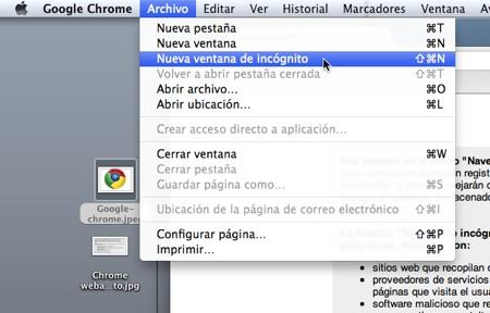 Cómo navegar en Google Chrome y que no se guarde en tu historial - Chrome-webadictos-historial-incognito-1