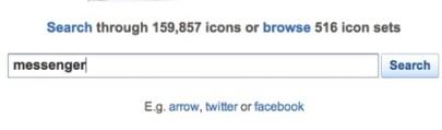 Busca más iconos para tu computadora o página web con IconFinder - Iconfinder-Download-free-icons-1