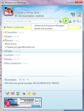 Como configurar Messenger Plus (MSN Plus) - MSN-4