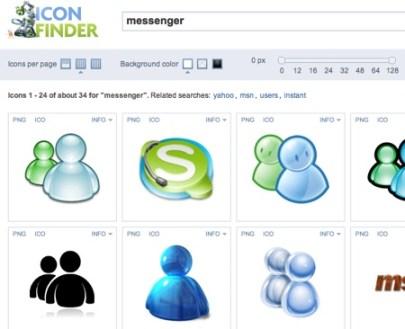 Busca más iconos para tu computadora o página web con IconFinder - Messenger-icons-Download-free-icons-1