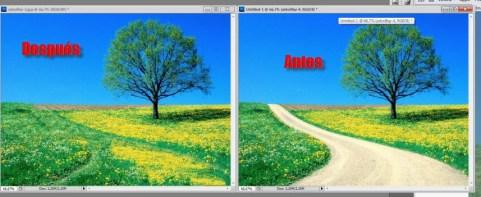 Como desaparecer cosas en imágenes con Content-Aware Fill en Photoshop CS5 - Photoshop-1