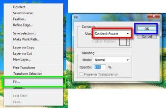 Photoshop 3 Como desaparecer cosas en imágenes con Content Aware Fill en Photoshop CS5