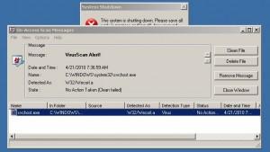 Actualización del antivirus McAfee deja muchas computadoras inservibles - Virus-300x169