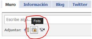 Se el más webAdicto en Facebook y gana una Dell mini 10 - cargar-foto-facebook
