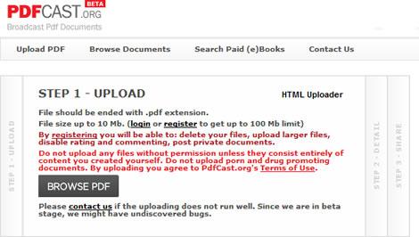 Compartir archivos PDF en PDFCast.org - compartir-pdf