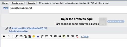 Adjunta archivos a Gmail con solo arrastrar y soltar - gmal-drag