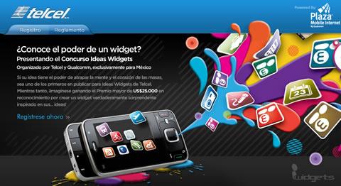 Concurso Ideas Widgets - ideas-telcel