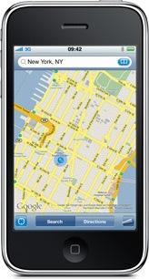 Google Maps Navigation saldrá para iPhone de manera gratuita - maps-iphone2
