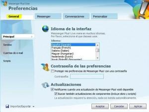 Cómo instalar Messenger Plus (MSN Plus) - ventana-plus-2-300x226