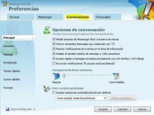 Cómo instalar Messenger Plus (MSN Plus) - ventana-plus-3-300x225