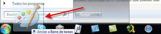 Barra de tareas 2 Como agregar programas a la barra de tareas de Windows 7