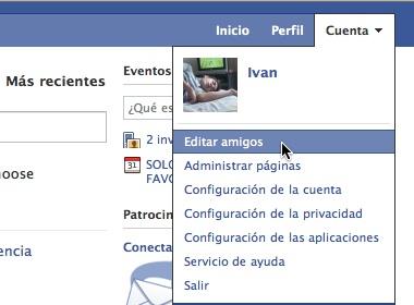 Como hacer listas de amigos en Facebook 1 Como hacer listas de amigos en Facebook