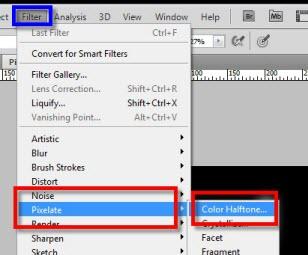 """Como hacer un """"efecto de pixeles"""" en Photoshop - Como-hacer-un-efecto-de-pixeles-en-Photoshop-4"""