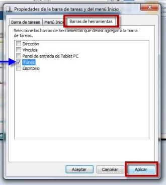 Como poner el minireproductor de iTunes a la barra de tareas en Windows - Como-poner-el-minireproductor-de-iTunes-a-la-barra-de-tareas-en-Windows-1