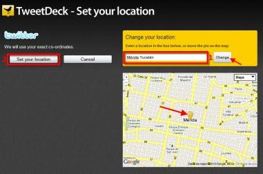 Como agregar tu localización en Tweetdeck - Localizacion-en-Tweetdeck-2