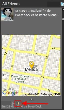 Como agregar tu localización en Tweetdeck - Localizacion-en-Tweetdeck-5