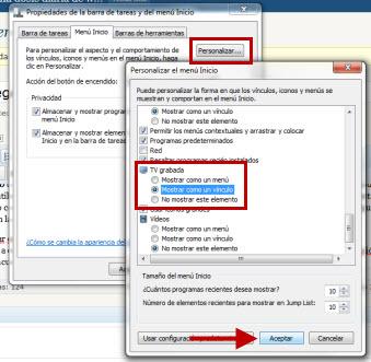 Menu de inicio 1 Como agregar una carpeta al Menú de Inicio en Windows 7