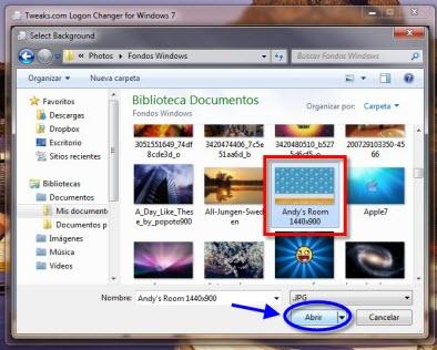 Como cambiar la pantalla de inicio de sesión de Windows 7 - Tweakslogon-4