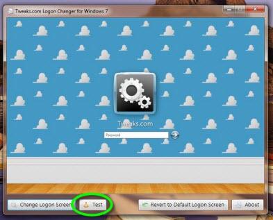 Como cambiar la pantalla de inicio de sesión de Windows 7 - Tweakslogon-6