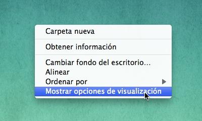 alinear iconos mac por defecto automaticamente 3 Alinea los iconos en el Finder automáticamente